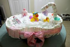 A bath tub.