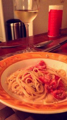 Shaghetti gorgonzola #100happydays #day89