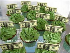 Money Cupcakes