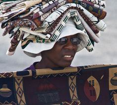 Africa   A fabric seller in Knysna.  South Africa   © Isteffens images -----getting in touch with my heritage