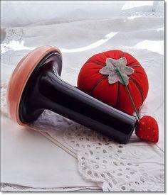 Oh! Darn it !!  Vintage Darning Mushroom BlackOut  Bakelite by thevintagearcade, $36.00