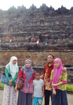 with my big family