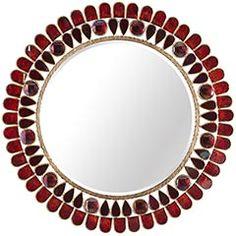 pier 1 red mirror
