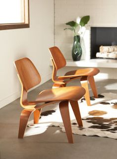 Eames Molded Plywood Lounge Chair in Walnut $779.00