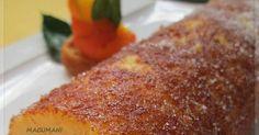 BRAZO DE NARANJA, TORTA PORTUGUESA FACIL Sin Gluten, Donuts, French Toast, Good Food, Breakfast, Cake, Desserts, Tejido, Homemade Cupcake Recipes