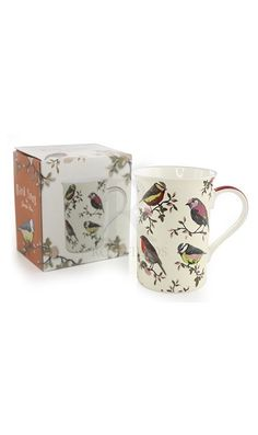 Bird Song Fine China Mug @ rosefields.co.uk