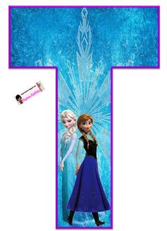 Frozen: Free Elsa and Ana Alphabet. Frozen: Bello Alfabeto Gratis de Elsa y Ana. Frozen Birthday Party, Frozen Tea Party, Frozen 1, Frozen Free, Sofia The First Birthday Party, Disney Frozen Party, Frozen Princess, 4th Birthday Parties, Baby Party