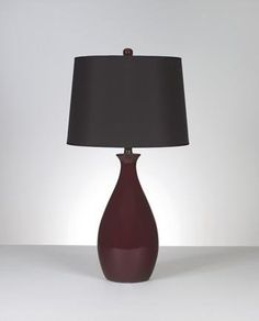 Special Offers - Ashley L247014 Jemma Table Lamp in Deep Ceramic Red 2-Pack - In stock & Free Shipping. You can save more money! Check It (April 26 2016 at 12:52PM) >> http://tablelampusa.net/ashley-l247014-jemma-table-lamp-in-deep-ceramic-red-2-pack/