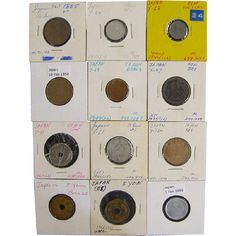Japanese Coin Assortment from N. Levy Collectibles on Ruby Lane