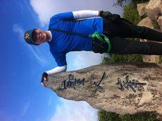 대한민국 동해에 있는 울릉도 성인봉에 오르다. Climb the sunginbong, Ulleung island in Eastsea, South Korea.