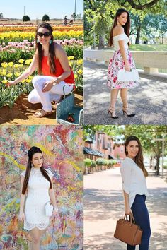 Best of Fashion Over Fatigue year 1:  Spring & floral looks