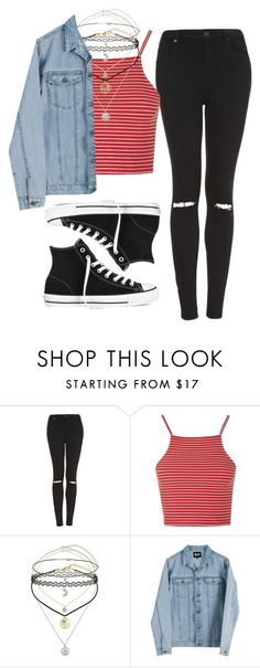 """Untitled #2753"" by lilaclynn ❤ liked on Polyvore featuring Topshop, Miss Selfridge, Cheap Monday, Converse, Chanel, topshop, MissSelfridge and cheapmonday"