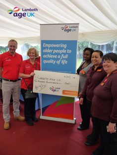 Our Open Garden Party at Lambeth Palace was a huge success! A special thank you to Sainsbury's Brixton Station Local for their support and kind donation of £200!