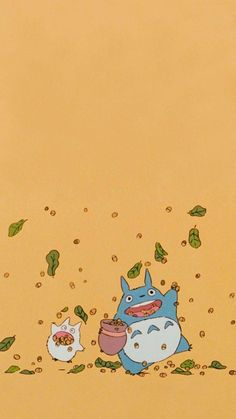 Studio Ghibli Art, Studio Ghibli Movies, Cute Cartoon Wallpapers, Animes Wallpapers, Studio Ghibli Background, Studio Ghibli Characters, Chihiro Y Haku, Arte Indie, Japon Illustration