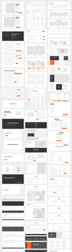 Basement Wireframe Kit: 200+ Prototype Elements