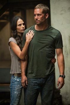 Mia and Brian....Love Paul Walker!!!!!!!