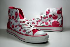 Converse limited edition + cherries ♥