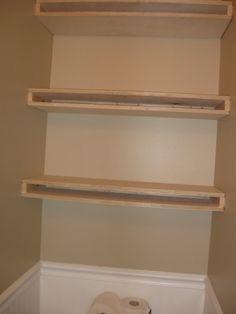 How To Build Floating Shelves | Blogging Molly: DIY Floating Shelves