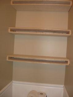 How To Build Floating Shelves | Blogging Molly: DIY Floating Shelves
