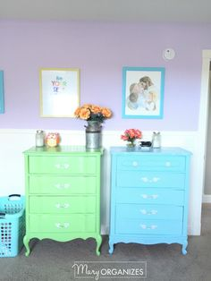 Girls Room Tour - 14 French Antique Dressers