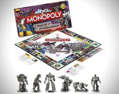 Transformers Edition Monopoly