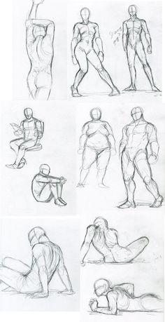 how to draw manga boy body - Google Search