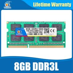 47.14$  Buy here  - Laptop Ram DDR3L 8GB 1600 PC3-12800 204PIN Memory DDR3L 1333 PC3-10600 Sodimm Ram Compatible All Intel AMD ddr3 Motherboard