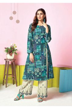 d78397221a0 Tucute Vol-11 By Karma Trendz Designer Top And Palazzo Set TC-11008