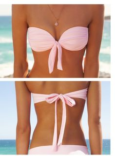 cute pink bikini