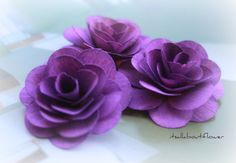 Your place to buy and sell all things handmade Wooden Flowers, Purple Rain, Green Flowers, Flower Tutorial, Flower Making, Wood Crafts, Favorite Color, Craft Projects, Wedding Planning