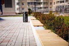 Детская площадка накрыше парковки вМоскве