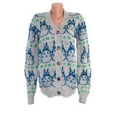 Totoro Sweater Jacket