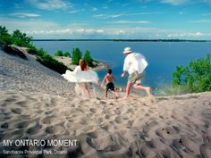 Moment: Swimming at Sandbanks Provincial Park - Ontario Most Beautiful Beaches, Beautiful Places, Ontario, Canadian Identity, Cultural Events, World Pictures, Wedding Weekend, Solitude, Outdoor Camping