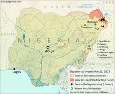 Nigeria Conflict Map