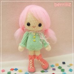 Candy - The winter girl - CROCHET