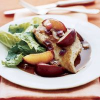 Skillet+Chicken+With+Plum-Balsamic+Sauce - GoodHousekeeping.com