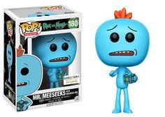 Rick & Morty: Mr. Meeseeks with Meeseeks Box Pop figure by Funko, Barnes & Noble exclusive
