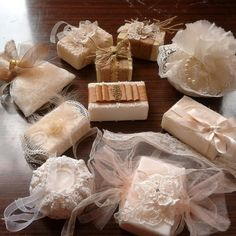 . Wedding Favours Fudge, Wedding Favours Luxury, Wedding Gifts, Candy Bouquet, Soap Packaging, Home Made Soap, Kids Decor, Soap Making, Soy Candles