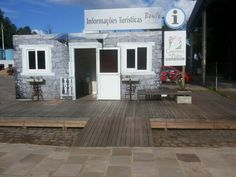 i – CAT CAMINHOS DE PEDRA (CENTRO DE ATENDIMENTO AO TURISTA) Patio, Outdoor Decor, Home Decor, Barbecue Restaurant, Brick Edging, Centre, Homemade Home Decor, Yard, Terrace
