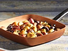 Delicious Recipes for Healthy Living Roasted Potato Recipes, Roasted Potatoes, Baking Pans Set, Copper Cooking Pan, Square Pan, Chef Recipes, Delicious Recipes, Copper Pans, Pan Set