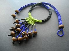 Chunky Herringbone Fringe Rope Necklace Tutorial