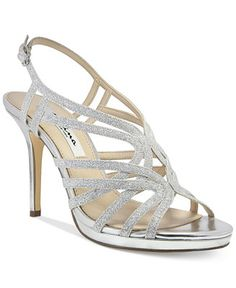 Nina Raisa Glitter Evening Sandals - Evening & Bridal - Shoes - Macy's