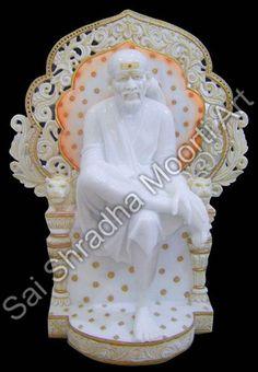 Sai Shrdha Moorti Art engaged in manufacturing and wholesaling excellent quality of Sai Baba Marble Statue, Ganesh Statue, Hanuman Statue at Best Price. Lord Krishna, Lord Shiva, Marble Furniture, Ganesh Statue, Marble Art, Sai Ram, Gods And Goddesses, Jaipur, Diwali