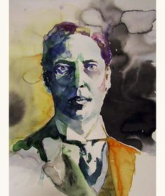 Self Portrait by Wassily Kandinsky