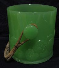 Jadeite Fenton Ice Bucket- I can't believe this is so cheap!