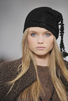 ** Chanel hat