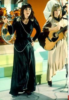 heartmonger25:    Ann and Nancy from a TV how in 1976    babes
