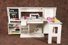 The Sewing Box [SewBox] - $1,495.00 : StamperStorage, Custom Storage for Stampers and Papercrafters
