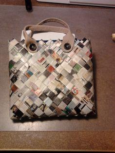 Papita taske. En dejlig håndtaske lavet af et IKEA-katalog.