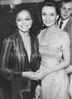 Diana Ross Audrey Hepburn 1980s